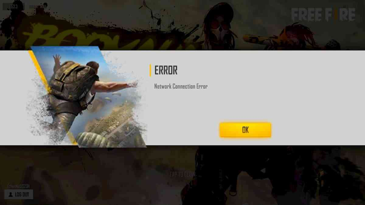 Free Fire Network Connection Error