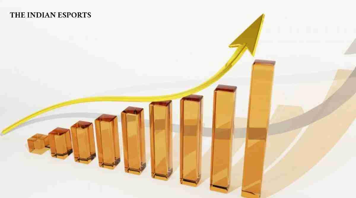stock graph chart fund raising