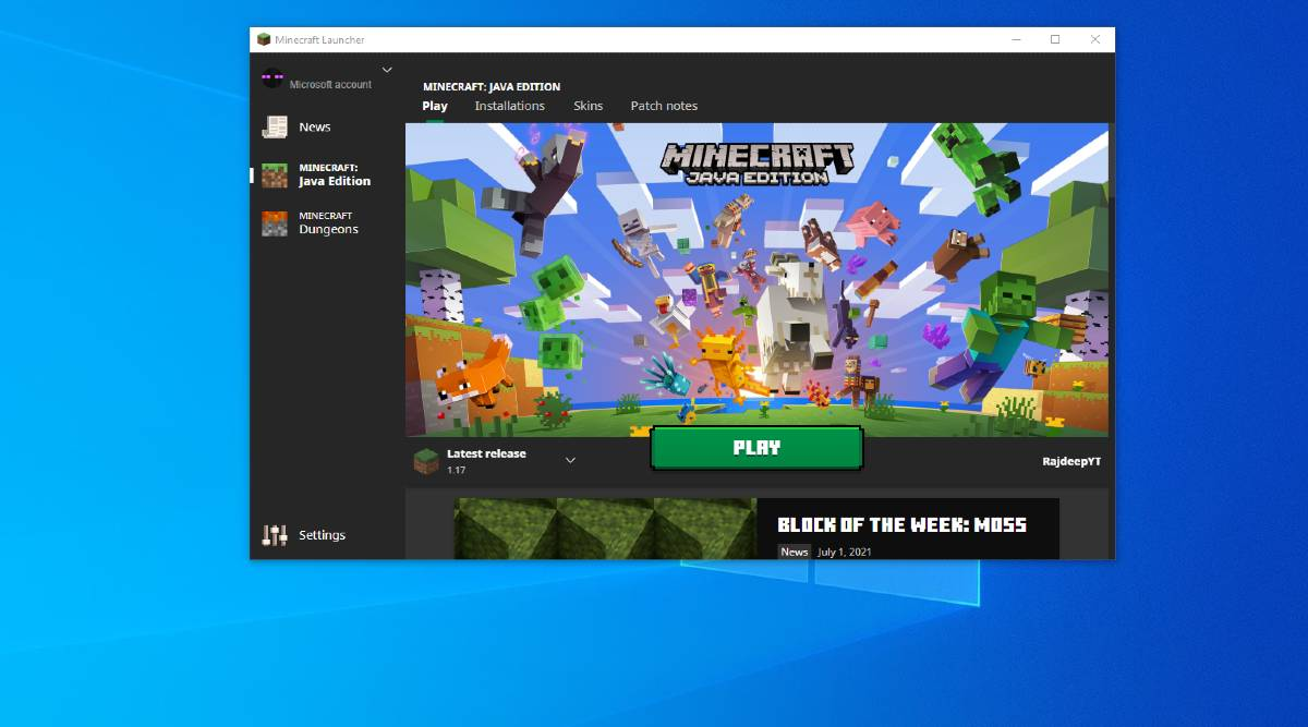 Play Minecraft After Purchase